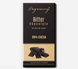 99% DARK CHOCOLATE WITHOUT ADD ON SUGAR
